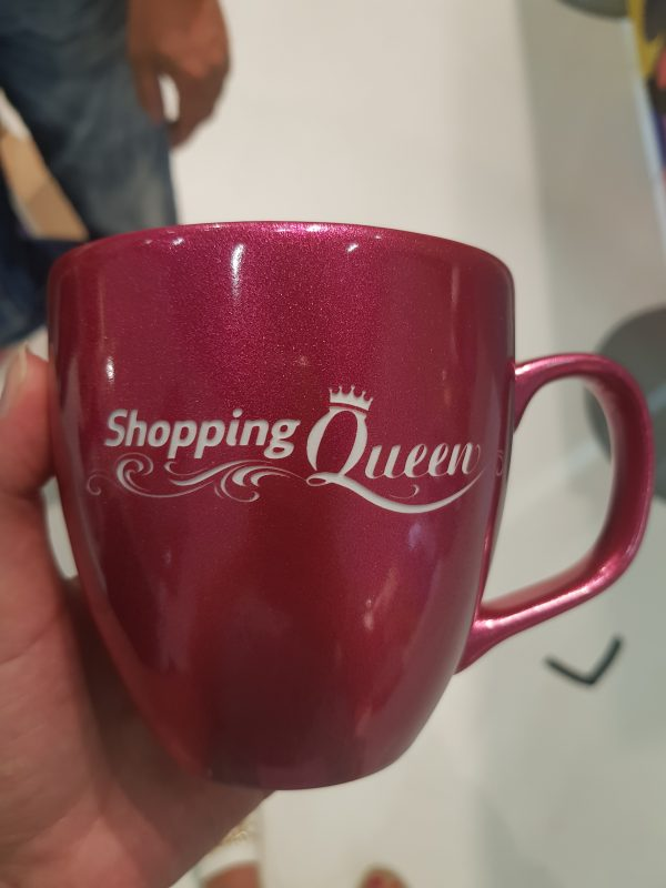 Shopping Queen Tasse