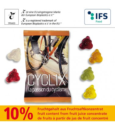 Fruchtgummi Fahrrad - Produktbild