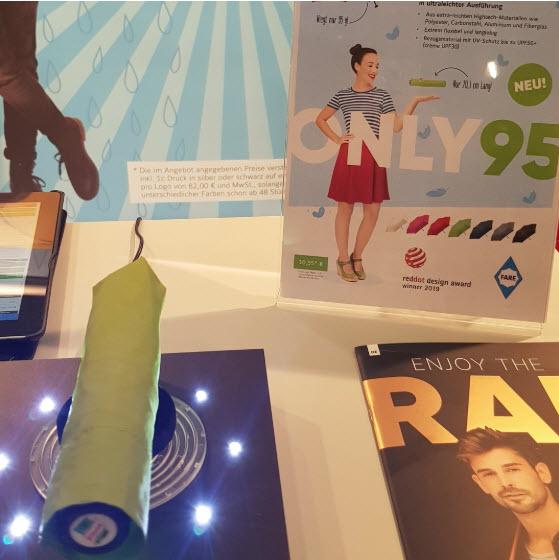 Top Ten Werbegeschenk: Mini Regenschirm