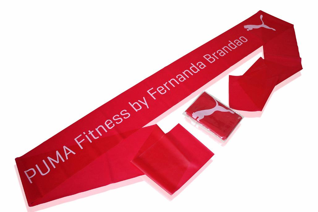 Fitnessband mit Logodruck - Produktbild