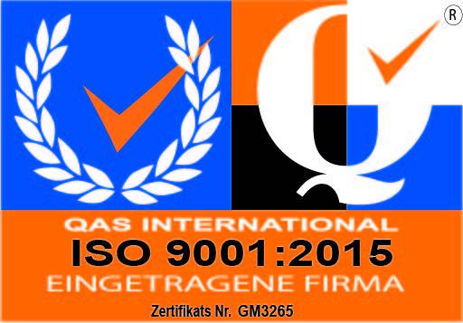 ISO 9001 Siegel