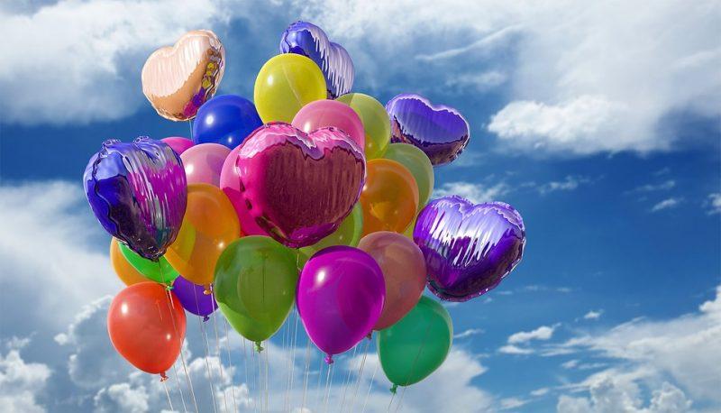 Luftballons als POS-Marketing