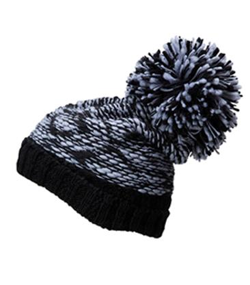 Pompon-Mütze individuell veredeln