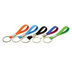 Schlüsselanhänger aus Silikon verschiedene Farben