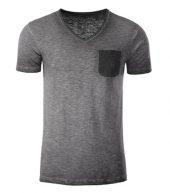 Slub-Shirt im Vintage Look
