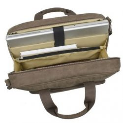 Laptoptasche aus Leder