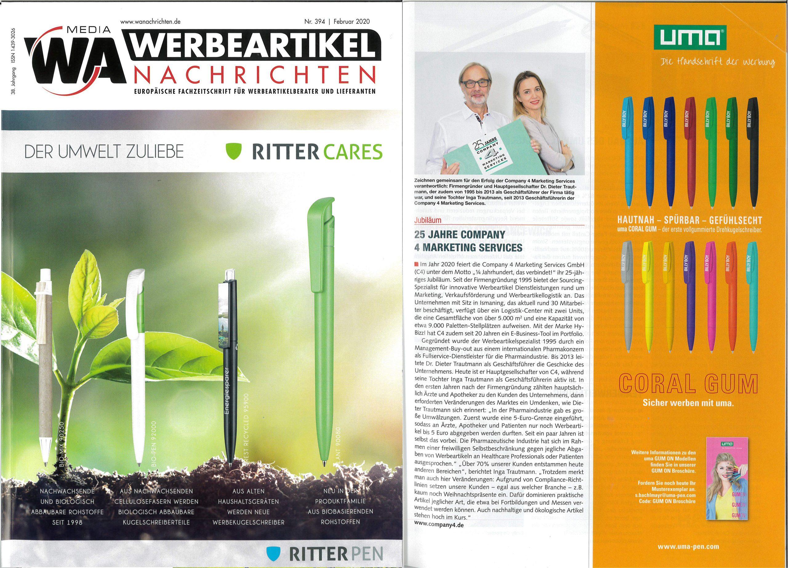 Werbeartikel-Nachrichten 02 2020