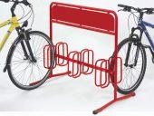 Werbe-Fahrradstand als POS-Marketing