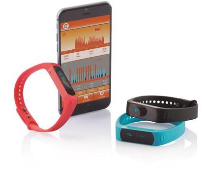 Activity Tracker in diversen Farben mit Ihrem Logo - Produktbild