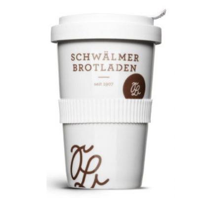 Coffee-to-Go Becher individuell bedrucken - Produktbild