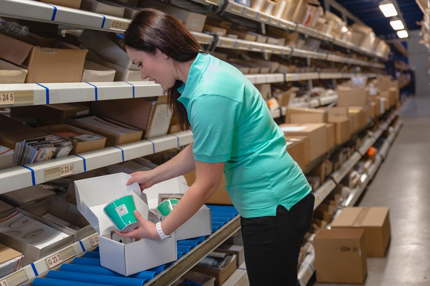 Werbeartikel Logistik bei Company 4 Marketing Services