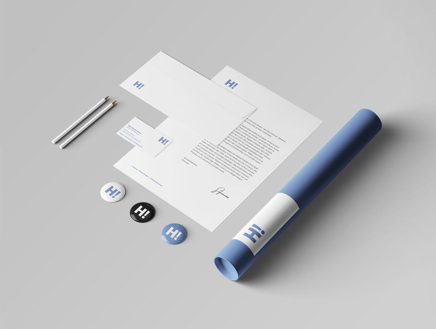 Web to Print - Geschäftspapiere
