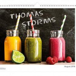 fotokalender mit einzelnamen