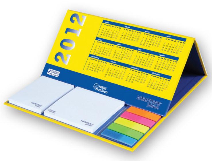 Kalender mit Haftnotizen - Produktbild