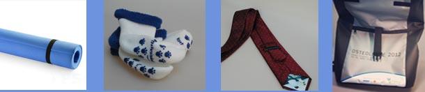 mitarbeitergeschenke-yogamatte-babysocken-krawatte-messengerbag