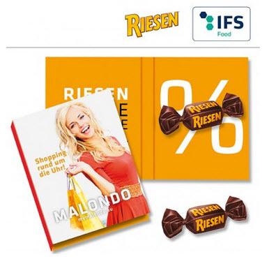 Schokolade für Mailings - Produktbild