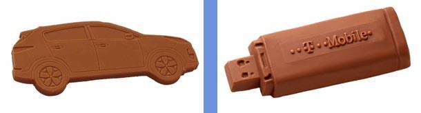 sonderform-Schokolade-usb-auto