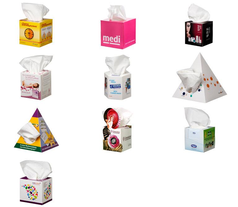 Tissues und Taschentücher bedrucken - Produktbild