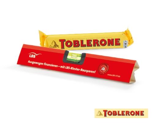 Toblerone Riegel mit Ihrer Werbung - Produktbild