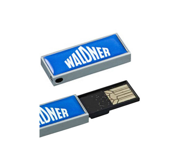 USB-Stick mit Doming - Produktbild